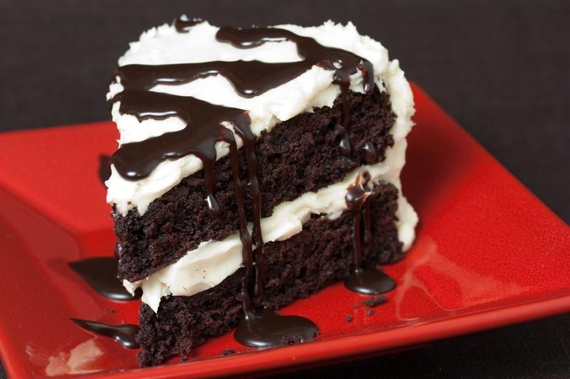 Double Chocolate Chip Sponge Cake